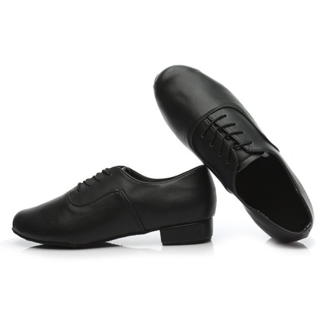 Brand new  Modern Men's Ballroom Tango Latin Dance Shoes Man dance shoes black color