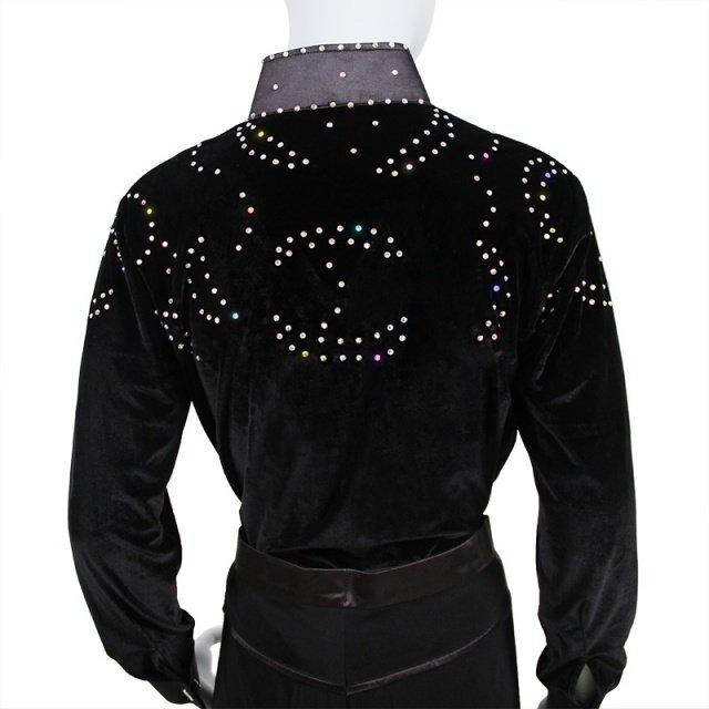 New Arrival boys Ballroom Dance Tops Long Sleeve Latin Shirts boy Dance Shirt Jazz/Waltz/Tango Dancewear child Latin Dance