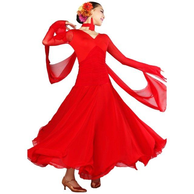 New big swing modern dance dress modern dance national dance service friendship -50