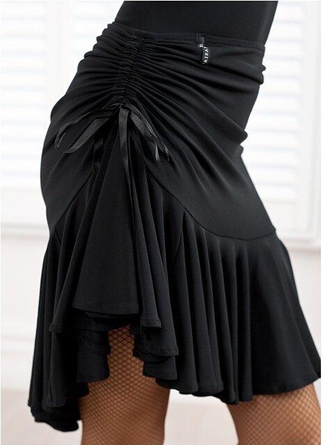 Square dance dance skirt black body skirt skirt pull rope safety pants Latin dance skirt