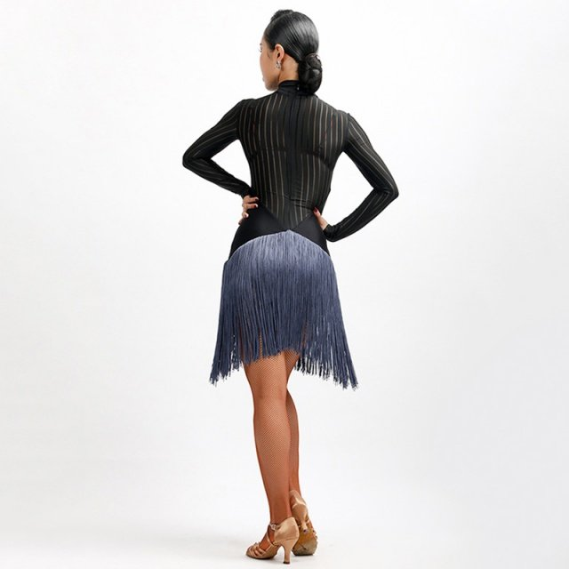 New latin fringe dress Party&Ballroom Latin Dance&Show Girl/ballroom dress woman