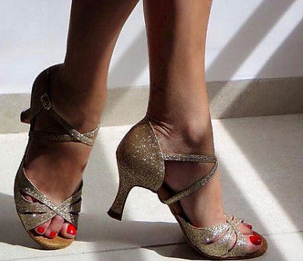 Latin Salsa Ballroom Dance Shoes High Heels Salsa Dancing Shoes Latin Ballroom Dance Shoes