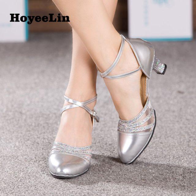 Ballroom Party Modern Dance Shoes Waltz Tango Dancing Salsa Shoes