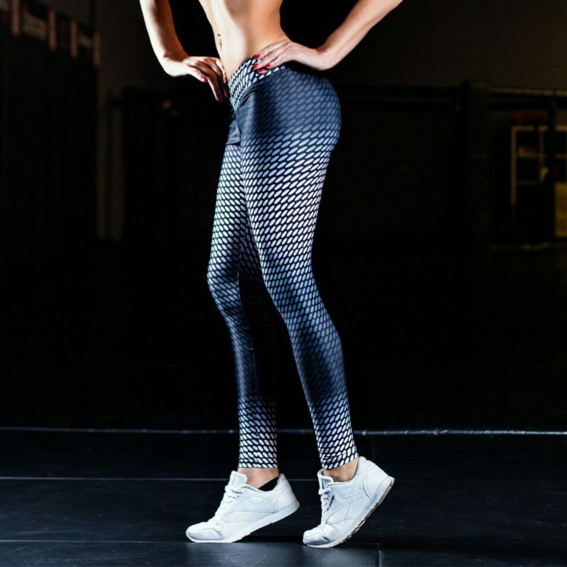 fc03c28d8fc55 Pants 3D Printed Jogging Gym Running Tights Exercise Female Fitness  Sportwear Trousers Leggings