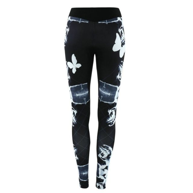 Pants 3D Printed Jogging Gym Running Tights Exercise Female Fitness Sportwear Trousers Leggings