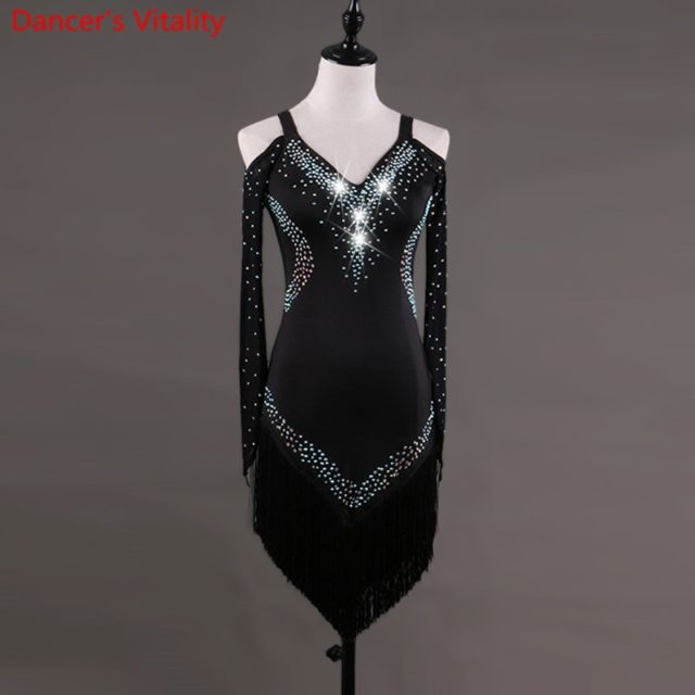 Latin Dance Dress Rumba Cha-cha
